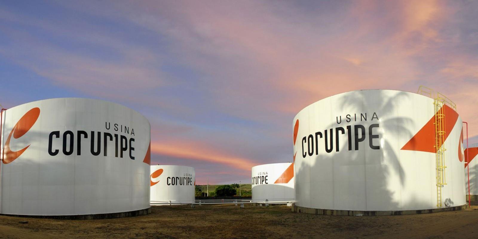 Usina Coruripe prevê moagem da safra 17/18 de 14,3 mi ton