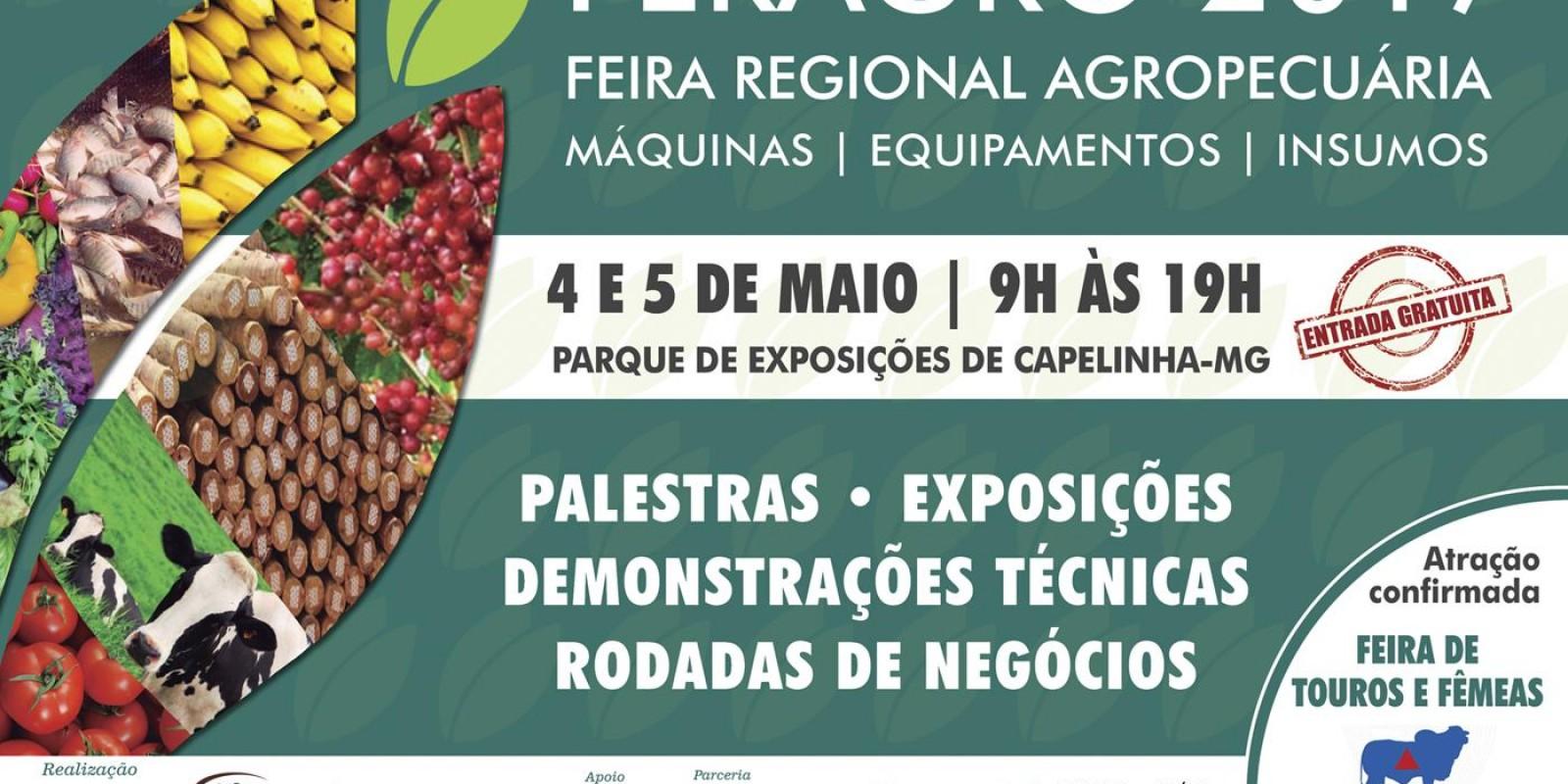 Feragro, em Capelinha, vai mostrar diversificação rural no Vale do Jequitinhonha