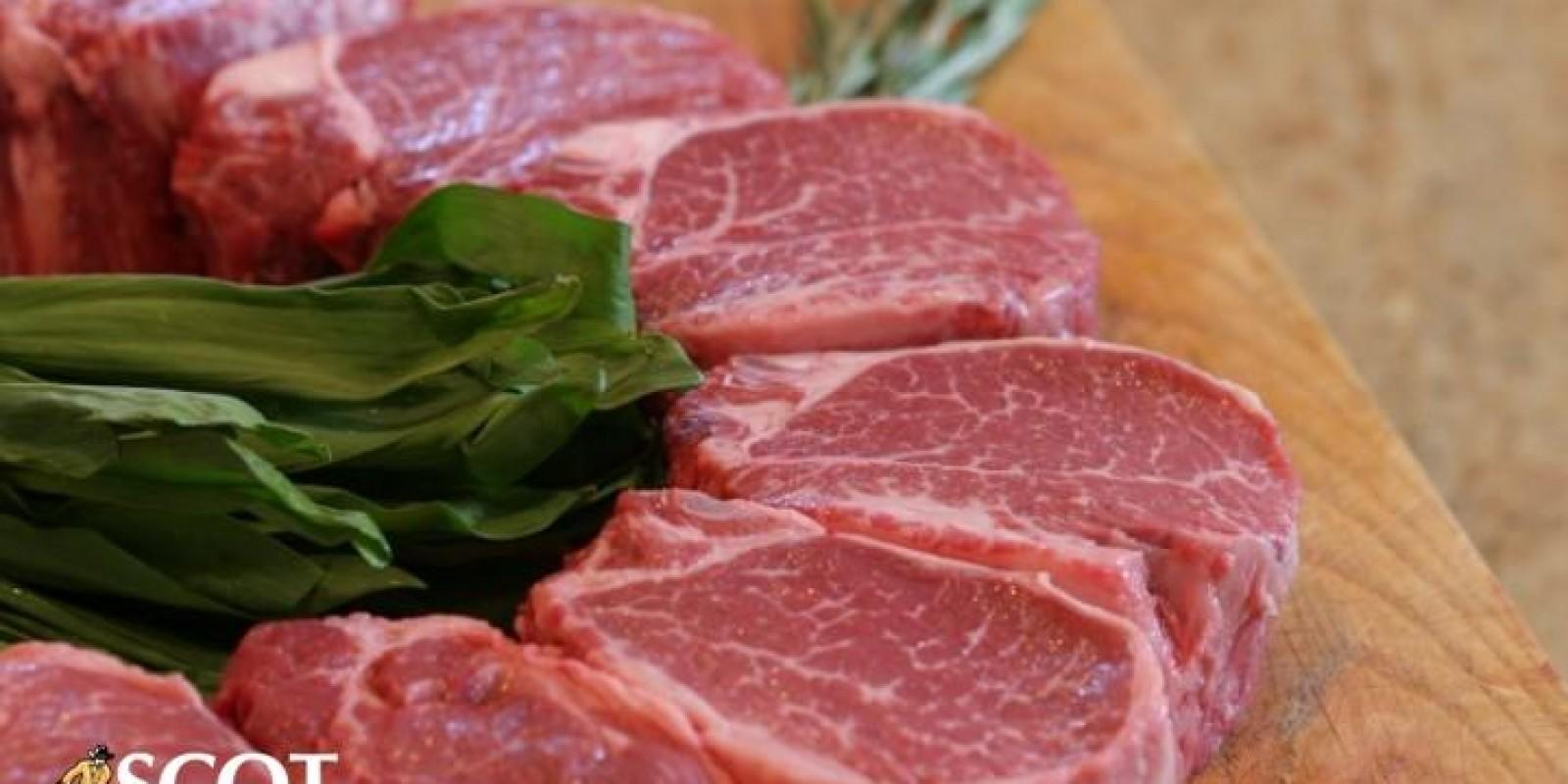 Carne bovina ganha competitividade frente à proteína de frango em junho