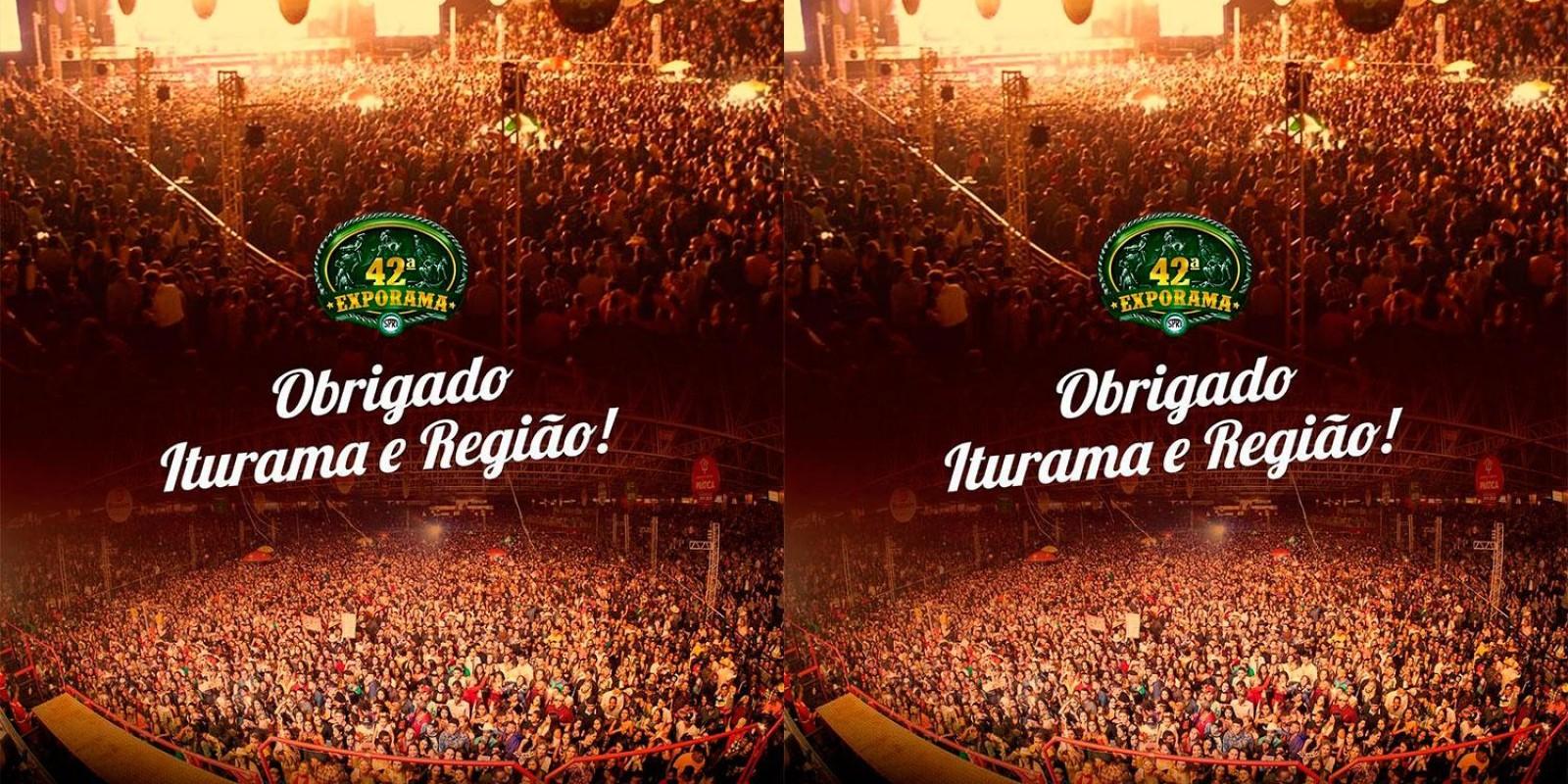 EXPORAMA - OBRIGADOOO Iturama e Região, só temos que agradecer!