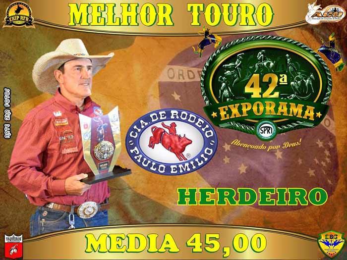 EXPORAMA - Conheça os campeões do rodeio da 42ª Exporama